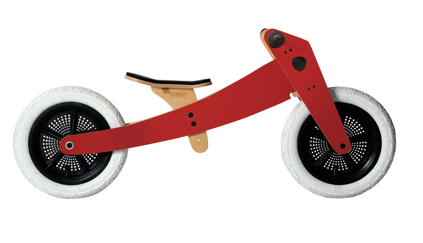 Wishbone 3 in 1 Design Bike red